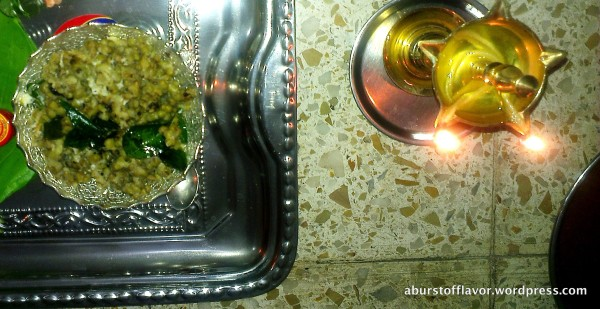 Pachai Payiru (Green Gram) sundal